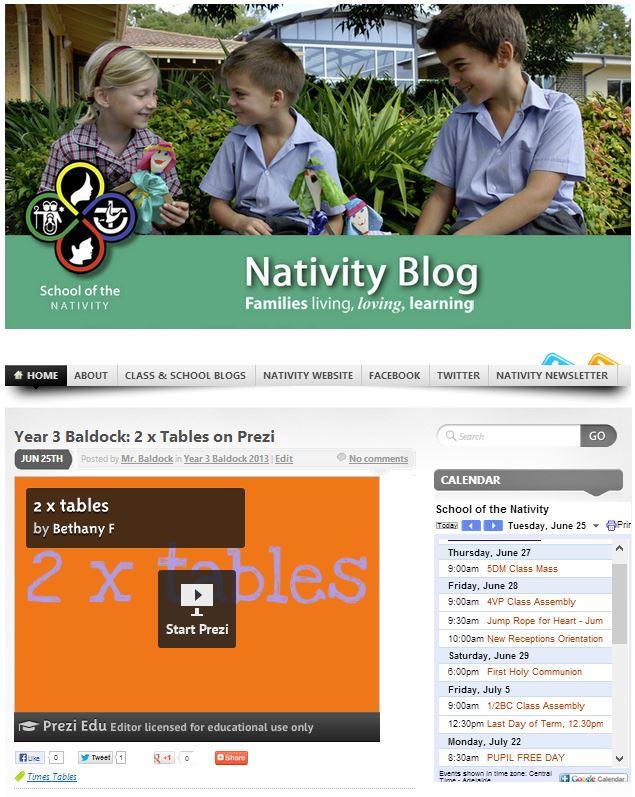 nativity blog